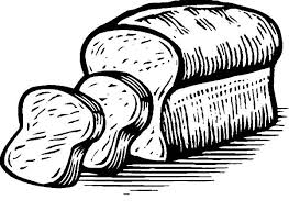 Bread Painting Of Coloring Pages