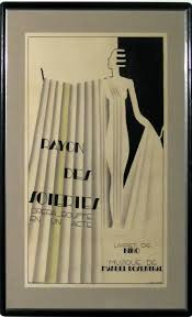 French Art Deco Poster By Maurice Dufrene