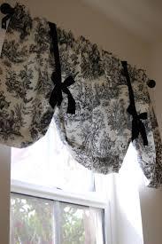 curtains toile kitchen curtains ideas best 25 toile on pinterest