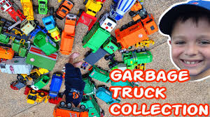 100 Garbage Trucks Videos Amazing Toy Truck Collection L Rule L