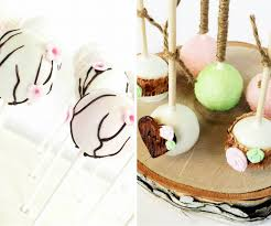 Spring Cherry Blossom And Rustic Wedding Cake Pops