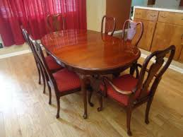 Awesome Gorgeous Queen Anne Dining Room Set Table Ebay Salevbags Chairs Ideas