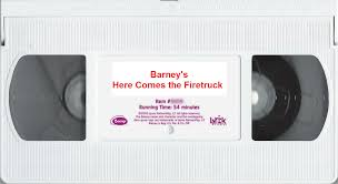 100 Barney Fire Truck Opening And Closing To S Here Comes The Truck 2001 VHS