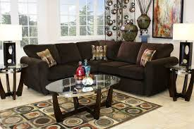 Brown Couch Living Room Design by The Top Hat Sectional Living Room Collection In Chocolate Mor