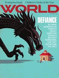 WORLD Magazine Sept 5 2015 Vol 30 No 18 By Gods World