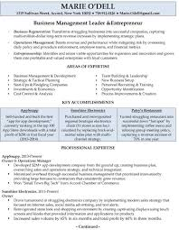 Business Owner Resume Small Objective Retail Examples Online Sample In