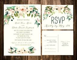 Garden Wedding Invitations Com Country Themed