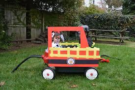 Wagon Fire Truck Halloween - Hallowen Costum Udaf