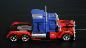 100 Transformer Truck Optimus Prime Robot Review YouTube