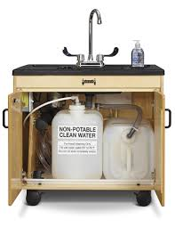 Mobile Self Contained Portable Electric Sink by All Portable Sinks Hand Washing Financing Available George Sink