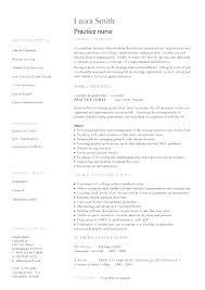 Healthcare Resume Example Nursing Template Nurse Examples Sample Registered Resumes Work Jobs Standard Word