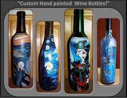 Decorative Wine Bottles Ideas by Buy A Custom Made Picasso Third Anniversary Gift Ideas Wife Gift