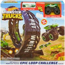 100 Monster Truck Decorations Hot Wheels S Epic Loop Challenge Playset