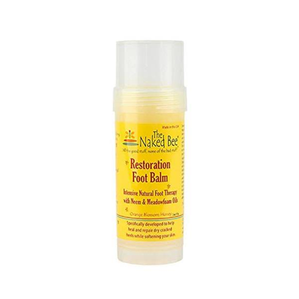 The Naked Bee Restoration Foot Balm - 2oz