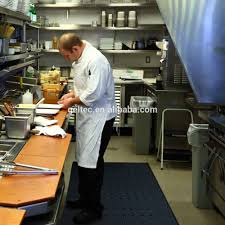 Standing Desk Floor Mat by Non Slip Heat Resistant Water Resistant Rubber Gel Foam Kitchen