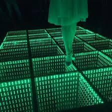 new led glass floor light led floor tile stagelight fogscreen