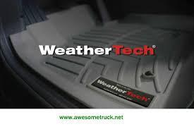 Laser Measured All Weather Floor Mats by Weathertech Floor Mats Houston U0027s Truck Accessories Leader