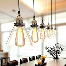 Pendent Light Glass Vintage Pendant Lights Lamp Kitchen Fixtures Dining Room Home Lighting Retro Industrial Hanging In