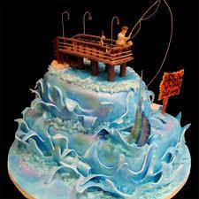 Home Fishing And Pier Cake Birthday Cake Ideas Birthday