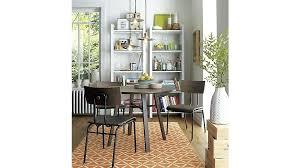 crate and barrel big sur dining table reviews parsons facet