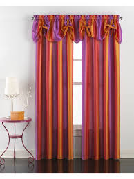Marburn Curtains Locations Pa by Rainbow Ombre Rod Pocket Panel Tie Up Valance U2013 Marburn Curtains