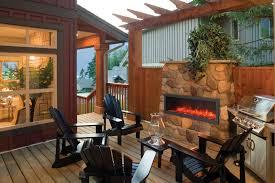 Amantii BI 60 SLIM Electric Fireplace – Indoor Outdoor – Bob s