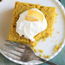 Healthy Light Pumpkin Dessert by Easy Healthy Lemon Snack Cake Recipe Sugar Free Gluten Free Vegan