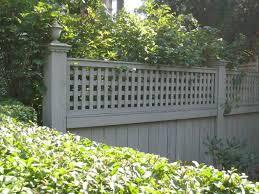 Decorative Garden Fence Posts by Decorative Garden Fencing Ideas