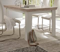 esstisch rovola in pinie weiß oslo pinie landhaus küchentisch 160 x 90 cm