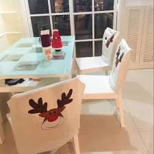Cartoon Embroidered Deer Hat Chair Covers Christmas Decor Chair Xmas Cap Christmas Decoration Chair Covers Ding Seat Sleapcovers Tree Home Party Decor Couch Slip Wedding Table Linens From Waxiaofeng806 542 Details About Stretch Spandex Slipcover Room Banquet Dcor Cover Universal Space Makeover 2 Pc In 2019 Garden Slipcovers Whosale Black White For Hotel Linen Sofa Seater Protector Washable Tulle Ideas Chair Ab Crew Fabric For Restaurant Usehigh Backpurple