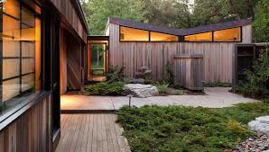 Mid Century Modern House Designs Photo by Japanese Inspired Mid Century Renovation Plastolux