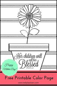 Free Printable Adult Coloring Page With Inspirational Bible Verse Perfect For Mothers Day