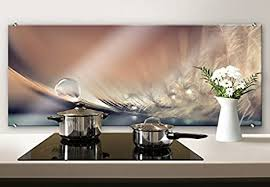 k l wall glasbild küche spritzschutz küchenrückwand