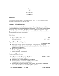 100 Stay At Home Mom Resume Example Cover Letter For Of