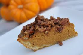 Pumpkin Pie With Pecan Praline Topping by Pumpkin Praline Pie