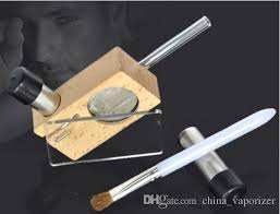 best wood material magic flight launch box vaporizer smoking vapor