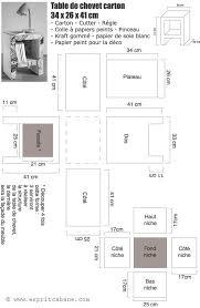 table de chevet en plan bureau plans et bureau