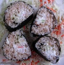 cuisine du riz sushi au riz complet clea cuisine