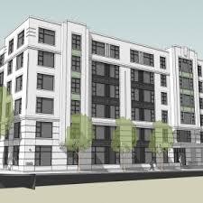 Architecture Inspiring Apartment Building Blueprints With Compact Concept Papiermaine