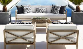 RH Brings Sophisticated Relaxation To Their Outdoor 2016 Collection