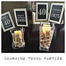 40th Birthday Decorations Canada by The 25 Best 40th Birthday Centerpieces Ideas On Pinterest Diy