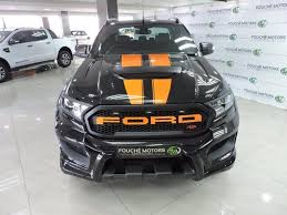 2018 black ford ranger 3 2 cab wildtrak auto r 729 995