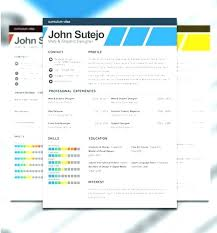 Resume Templates Template Download Free Creative Adobe Cv Photoshop Kreatif Temp