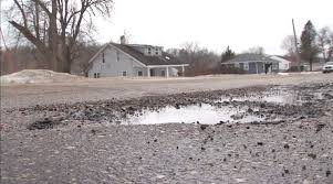 100 Two Men And A Truck Cedar Rapids Snow Melt Revealing Potholes In Roads