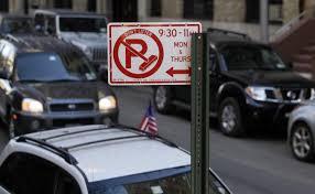 bureau york de blasio objects to easing of on alternate side parking