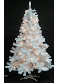 4ft Christmas Tree With Lights by The White Princess Pre Lit Fir Tree Multi Coloured