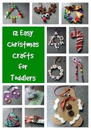 Easy Crafts For Toddlers Happy Hooligans Xmas Preschoolers Craft Christmas Childrens