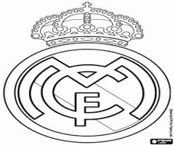 Real Madrid CF Badge Chelsea FC Logo Coloring Page
