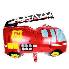 100 Fire Truck Birthday Party US 174 35 OFF1pc Shaped Foil Balloon Cartoon Air Or Helium Theme Engine Toy Balloon For Kids Decorin