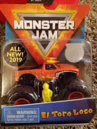 100 El Toro Monster Truck Hotwheels S Jam Loco New 2019 Toys